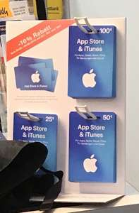 [Lokal?] [Bonn Beuel Postbank] -10% beim Kauf von Apple Itunes Guthaben (25/50/100€)
