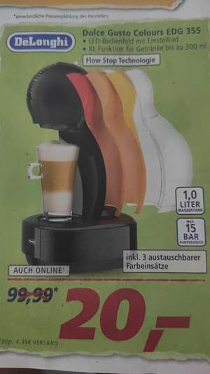 [Real] Dolce Gusto Maschine mit Flow Stop Technologie