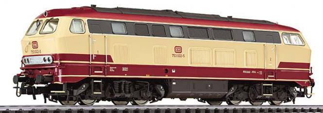 Liliput 132039 H0 Diesellok BR 753, DB, Ep.IV digital AC, rot/beige [H0]
