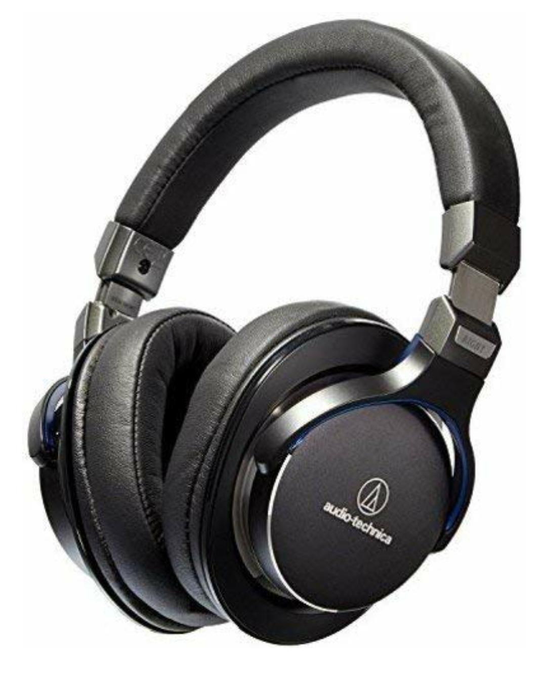 Audio Technica ATH-MSR7BK High-Resolution Over-Ear Kopfhörer schwarz