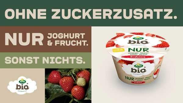 [EDEKA] Arla Bio Fruchtjoghurt unbegrenzt gratis durch Kombination von App-Rabatt und Coupon