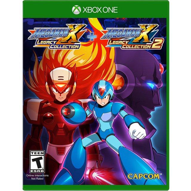 Mega Man X - Legacy Collection 1 & 2 (XBOX ONE) für 21,36€ inkl. Versand