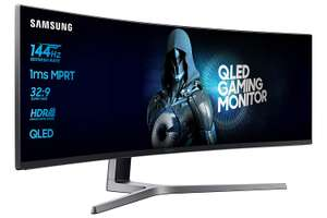 NBB BLACKSAMSUNG - Samsung C49HG90DMU 49 Zoll, 144hz, 1ms, Curved, VA-Panel, HDR