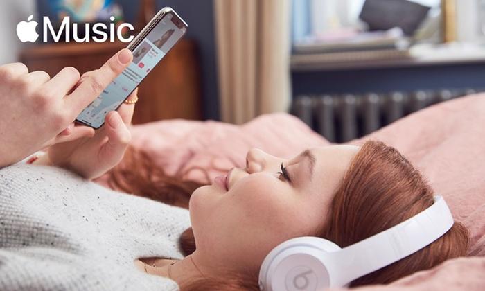 4 Monate kostenlose Apple Musik