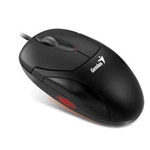 KYE XScroll Maus optisch USB 3 Tasten 400dpi + Tastenrad schwarz