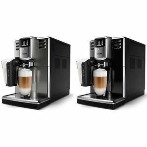 PHILIPS Kaffeevollautomat Series 5000 LatteGo Milchschaufschäumer Keramik B-Ware