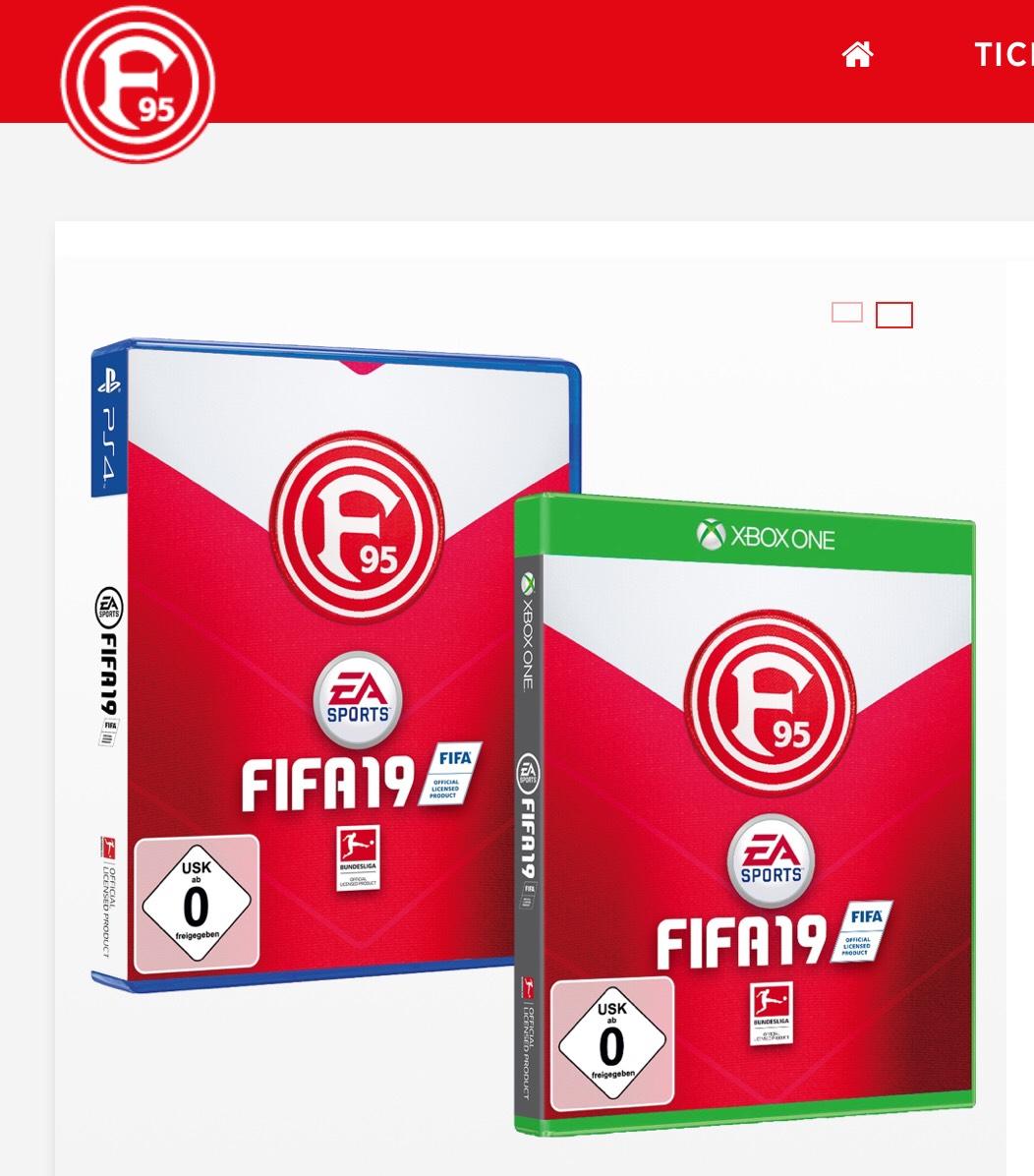 FIFA 19 in der Fortuna Düsseldorf Edition für Xbox