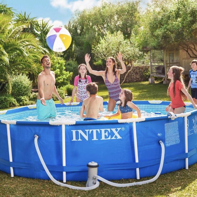 [Aldi] Intex Pool 366x84cm, inkl. Pumpe und weiterem Zubehör + 3Jahre Garantie für 99€
