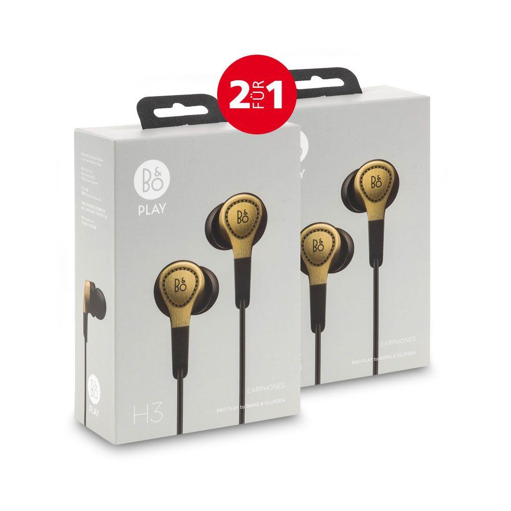 2x Bang & Olufsen BeoPlay H3 Champagner 2für1 für 114,90€ (statt 178€)