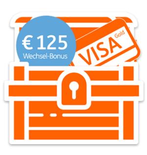 ING Bank Österreich - 125 € Startbonus + 1 Jahr gratis VISA Gold