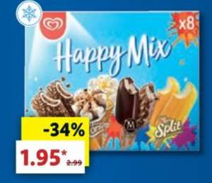 [LIDL] Langnese Happy Mix / Summer Mix 8x Eis