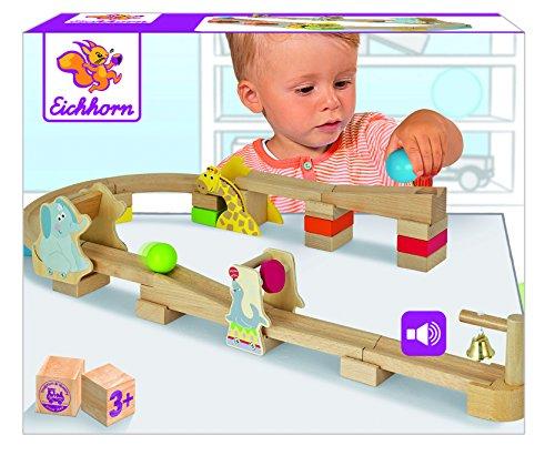 (Amazon Plus Produkt) Eichhorn Kugelbahn 30 Teilig