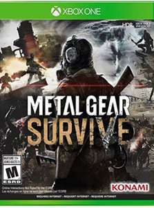 Metal Gear Survive - Xbox One Disc [amazon.com]