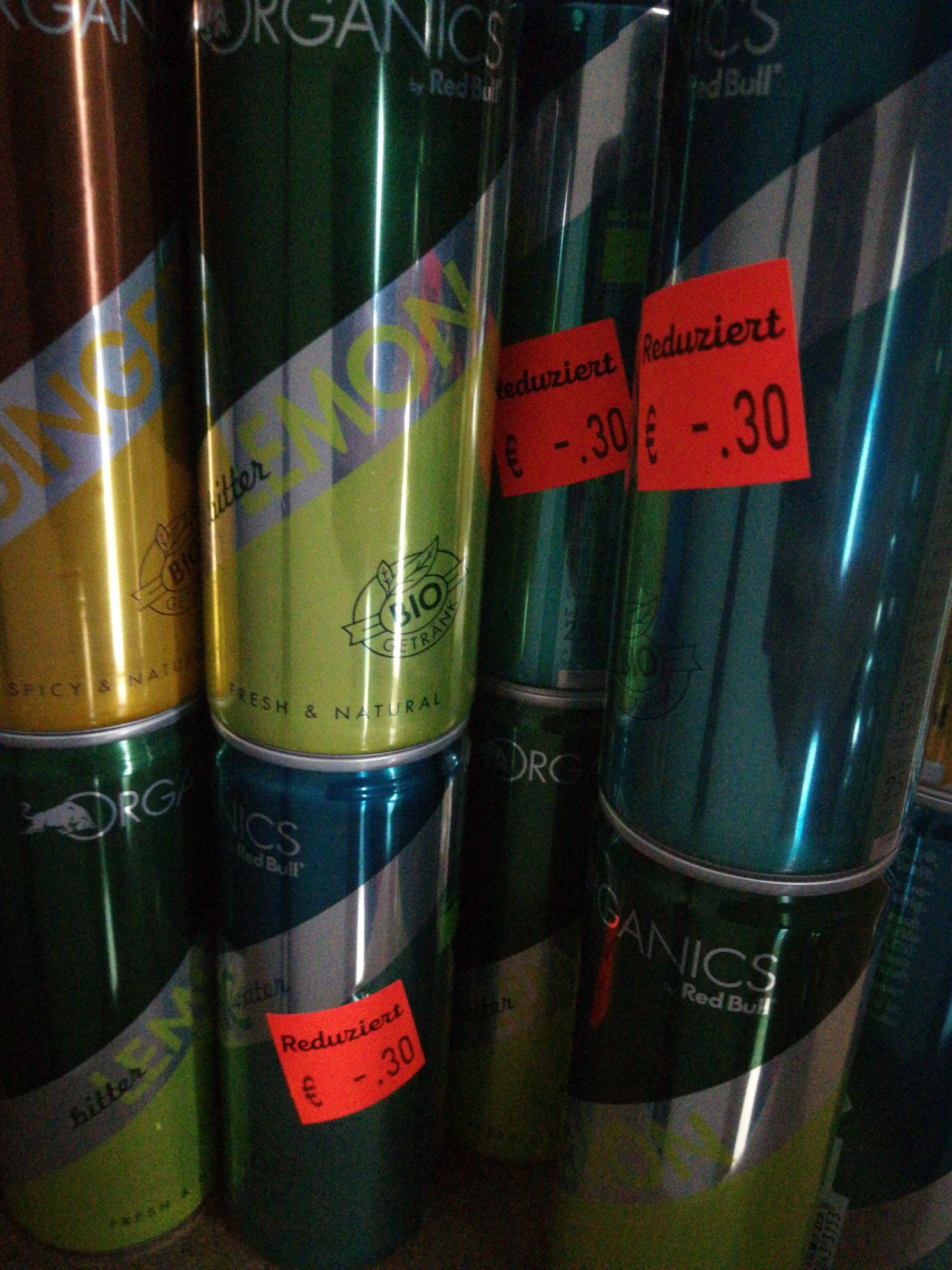 Red Bull Organics 0,30€ zzgl 0,25€ Pfand [Aldi Nord Lokal] Gelsenkirchen