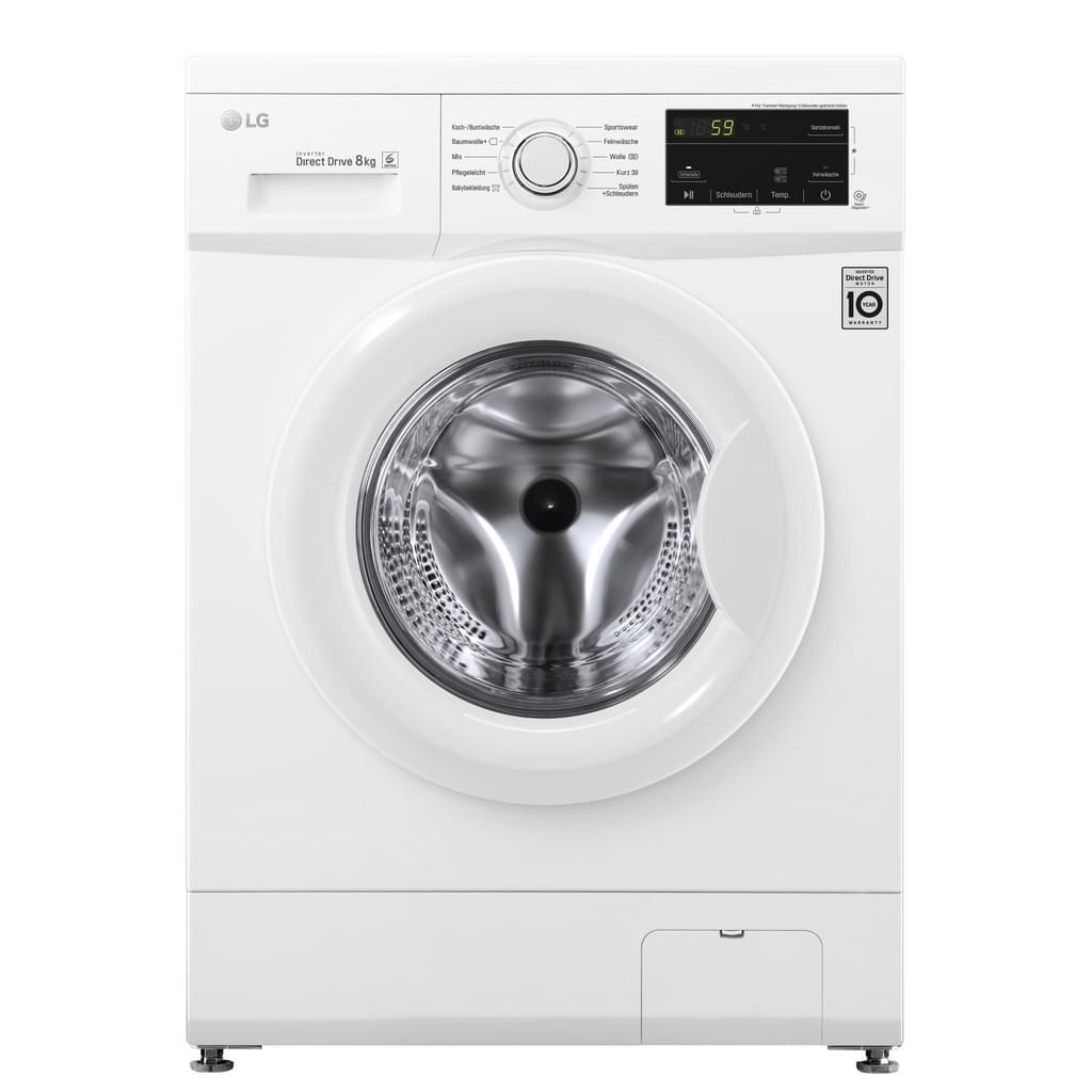 """LG 8Kg-Waschmaschine """"F14WM8MC0"""" (A+++, Inverter Motor, 10 Waschprogramme, AquaStop) [Real.de]"""