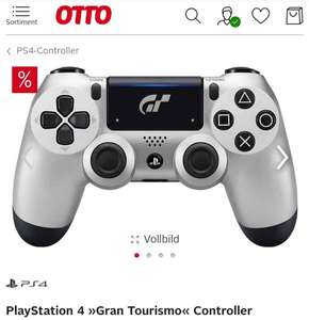 PlayStation 4 »Gran Tourismo« Controller