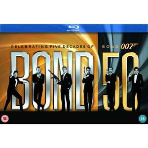 [amazon.co.uk] James Bond - 22 Film Collection [Blu-ray]