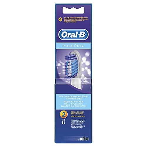 z.B. 8 Oral-B Pulsonic Aufsteckbürsten - 1,54 € pro Stück + VSK [Nur Prime Mitglieder]