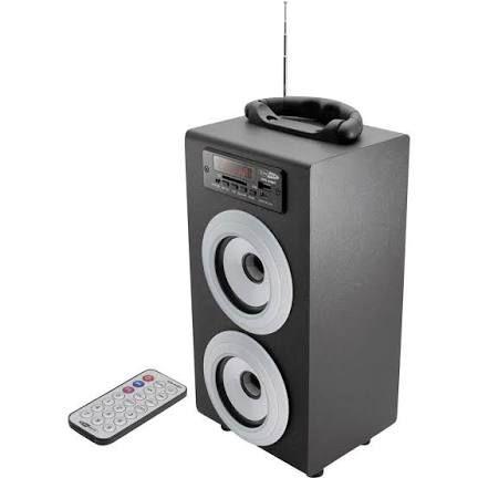 Caliber HPG 415 BT portables Soundsystem mit Bluetooth und Akku, Radio, Fernbedienung