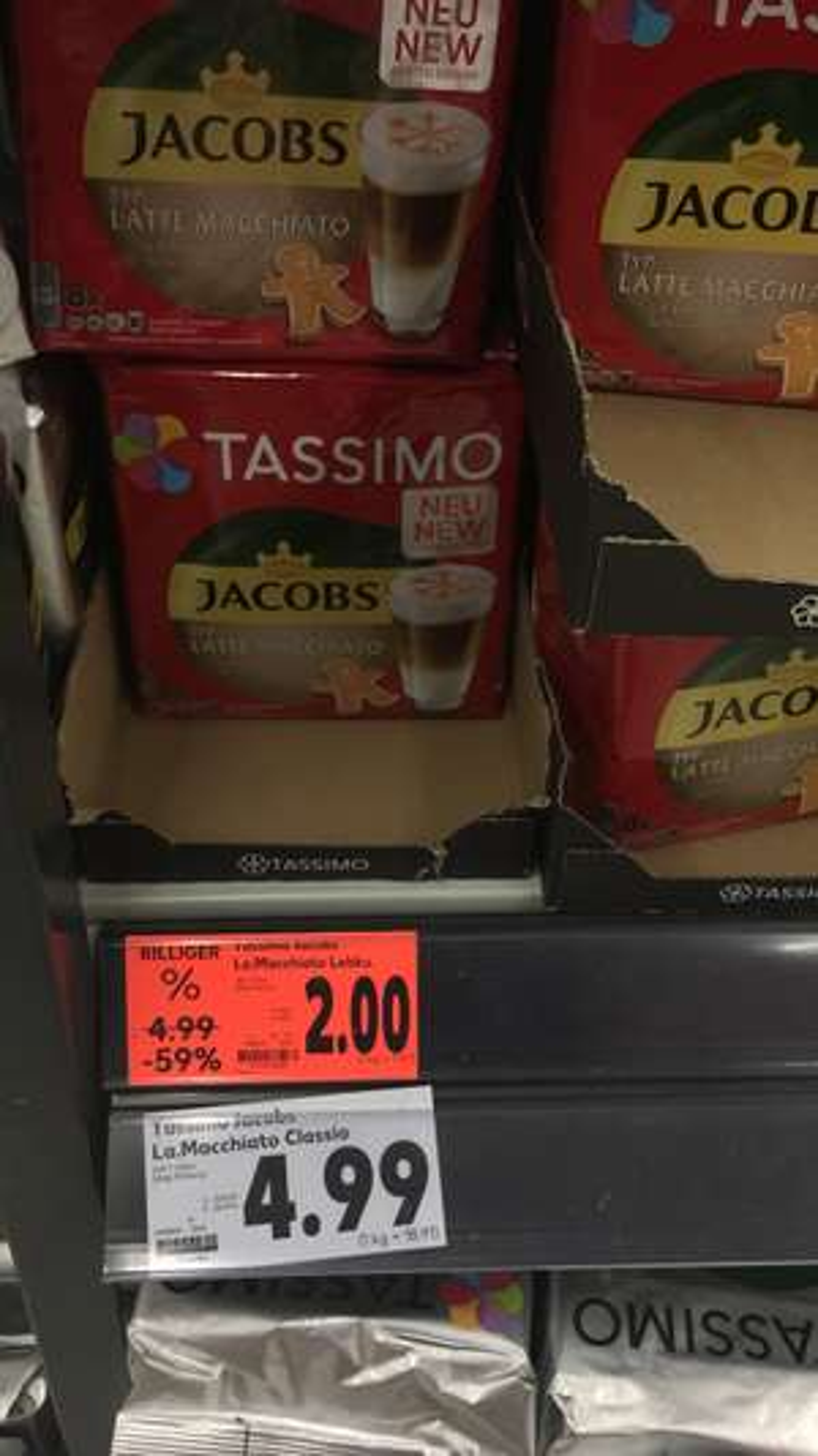 Tassimo Kapseln Latte Macchiato Lebkuchen