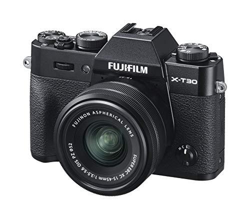 Fujifilm X-T30 Systemkamera + XC15-45mm Objektiv Kit Schwarz