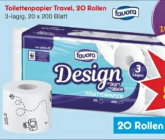 [Netto MD] 3-lagiges Toilettenpapier 20 × 200 Blatt (mit DC rechnerisch 4,98€)