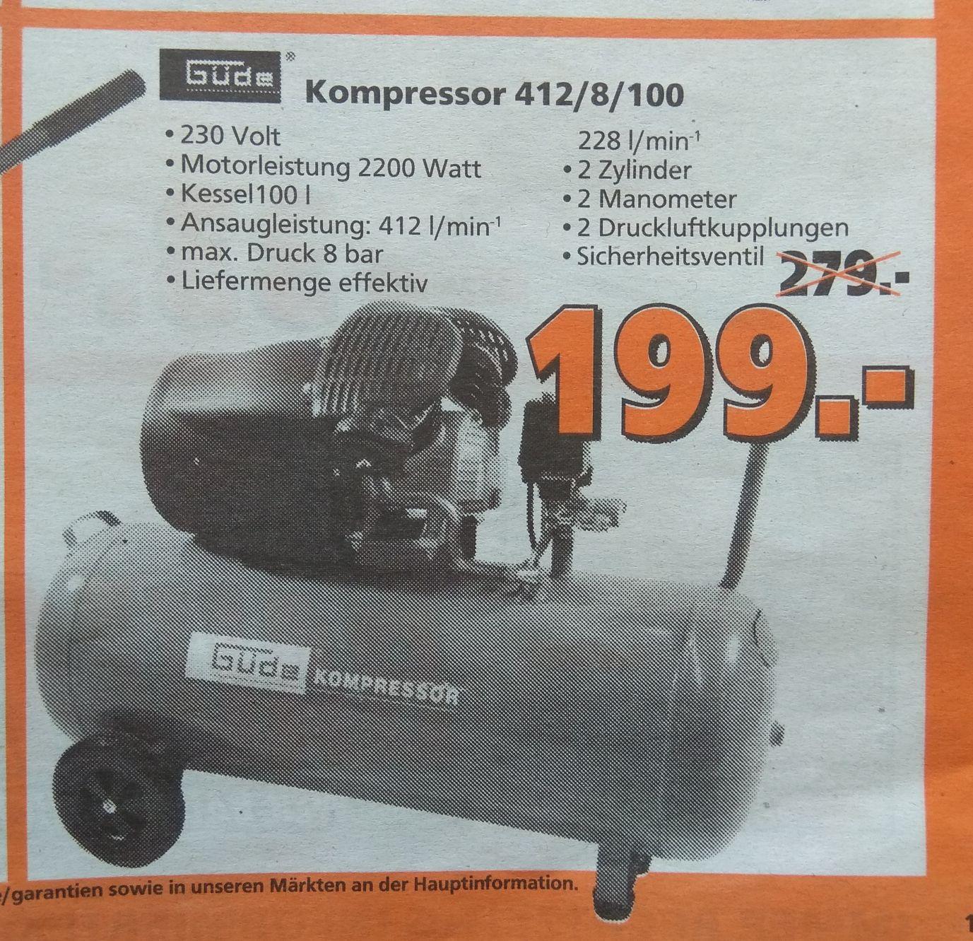 Güde 412/8/100 Kompressor