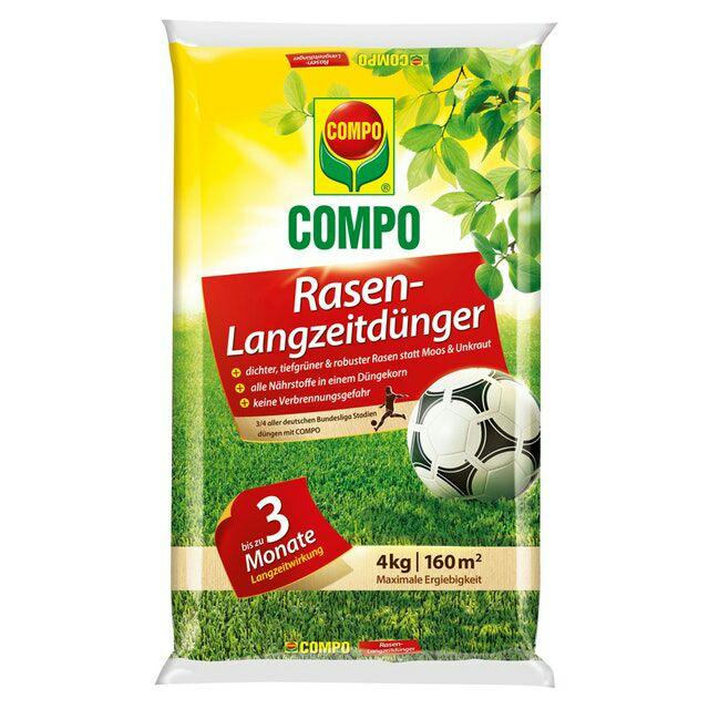 Compo Rasen-Langzeitdünger, 4 kg, 160 m² (1353866)
