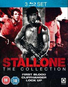 Stallone Triple (First Blood / Cliffhanger / Lock Up) Blu-ray für 8,59 € @ZAVVI.COM