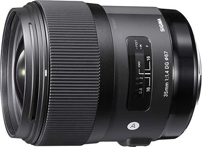 Sigma 35mm F1,4 DG HSM Art Objektiv (Canon EF Mount)