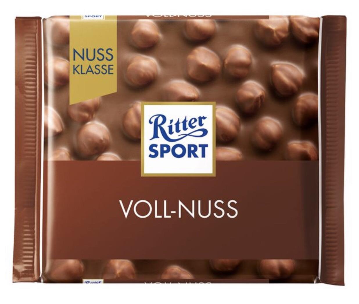 Ritter Sport Nussklasse 0,95 €