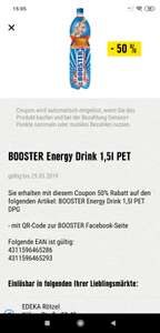 Booster Energy Drink 1,5L -50%