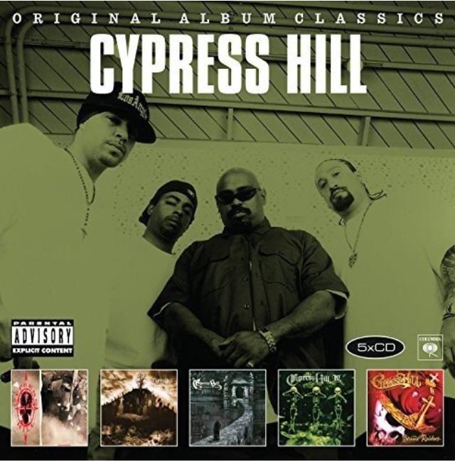 Cypress Hill - Original Album Classics [5 x CD] (Cypress Hill + Black Sunday + Tempels of Boom + IV + Stoned Raiders)