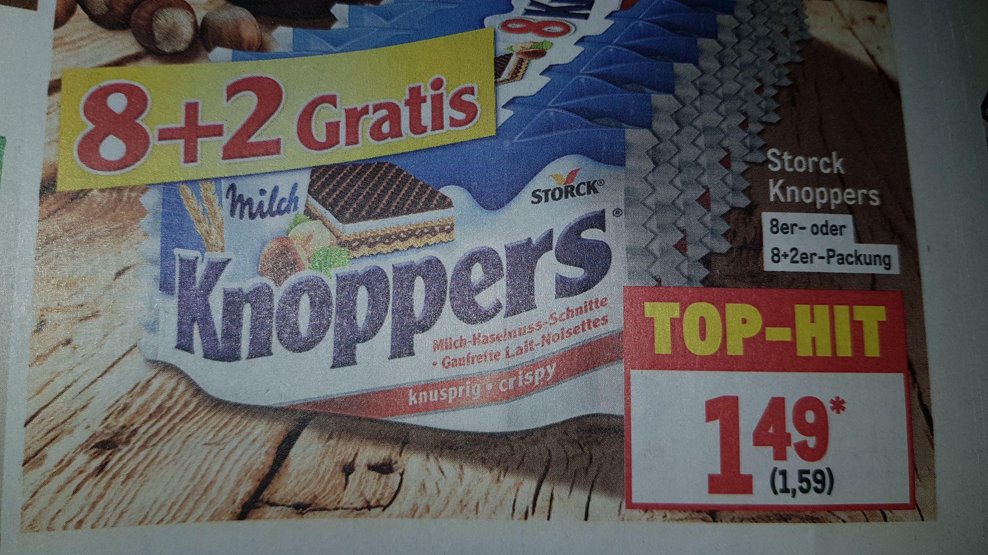 10 Knoppers für 1,59€ bei Metro.