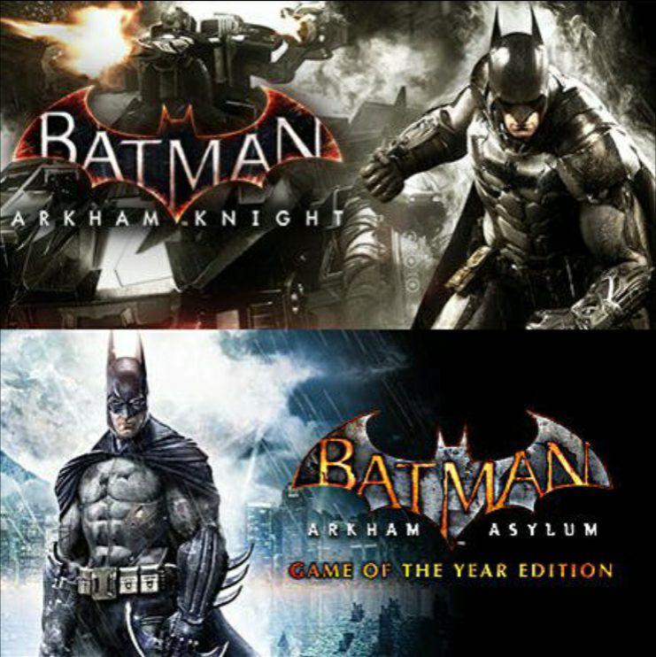 Batman Arkham Knight + Batman : Arkham Asylum GOTY (Steam) für 4.75€ (GreenManGaming)