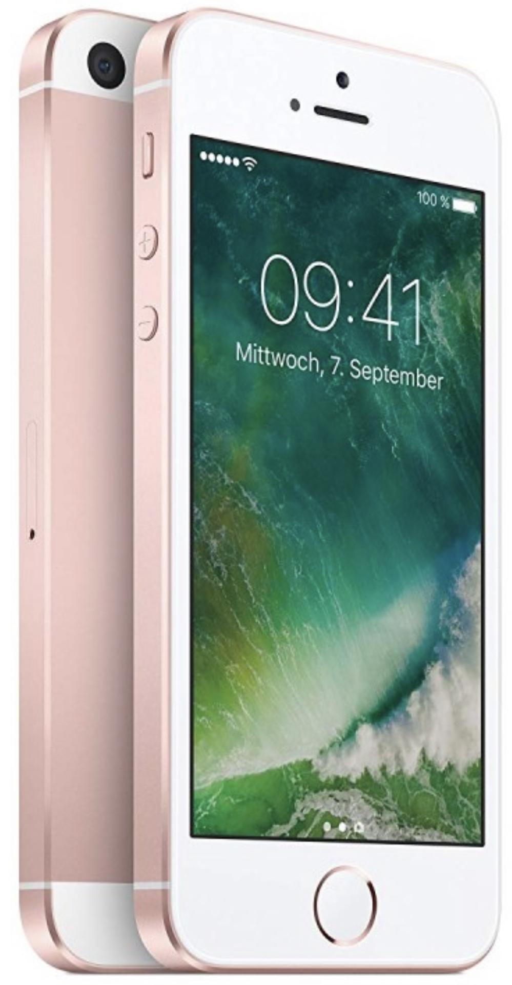 Apple iPhone SE 16GB Rose Gold für 169,95€ + 8,95€ in Superpunkten inkl. Versandkosten mit Masterpass