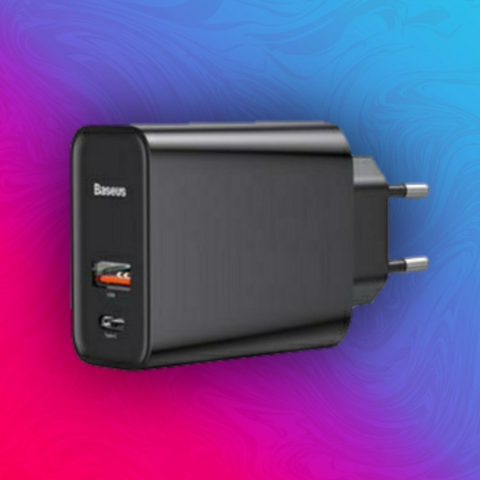 Baseus 5A/30W PD Ladegerät - QC4.0 + Type C