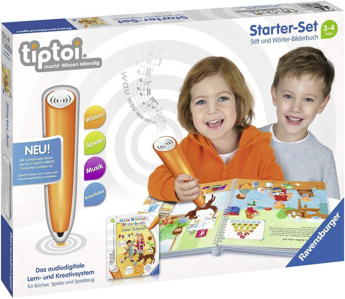 TipToi Starter-Set mit Stift und Buch ab 3 Jahre