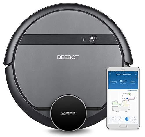 Ecovacs DEEBOT 901 - Saugroboter mit intelligenter Laser Navigation & MAX-Modus