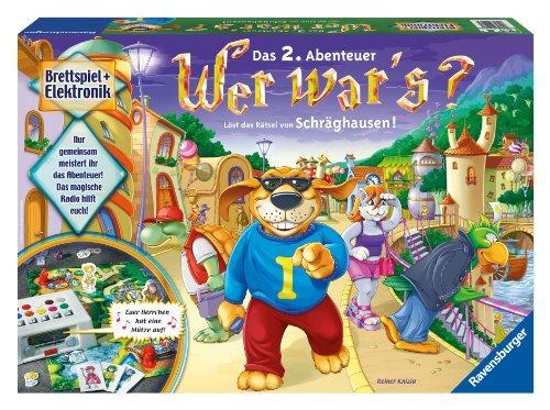 Weihnachtsgeschenk für die kleinen? Ravensburger Wer war's  Schräghausen(2. Version)