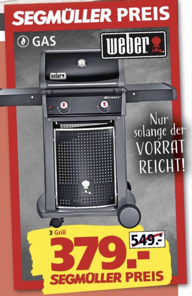 [Lokal] Weber Gasgrill Spirit E-210 Classic - Segmüller Parsdorf/Friedberg