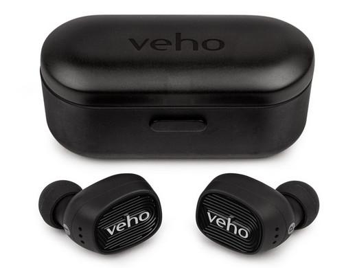 """Veho True Wireless In-Ear-Ohrhörer """"VEP-017-ZT1"""" (Integrierter Akku + Mikrofon) [iBOOD]"""