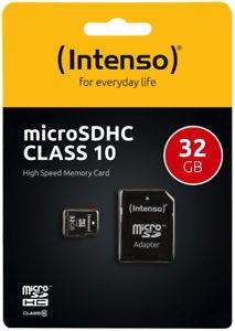Intenso MicroSDHC 32GB [eBay]
