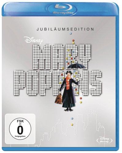 Mary Poppins - Jubiläumsedition (Blu-ray) für 5,99€ (Amazon Prime & Real)