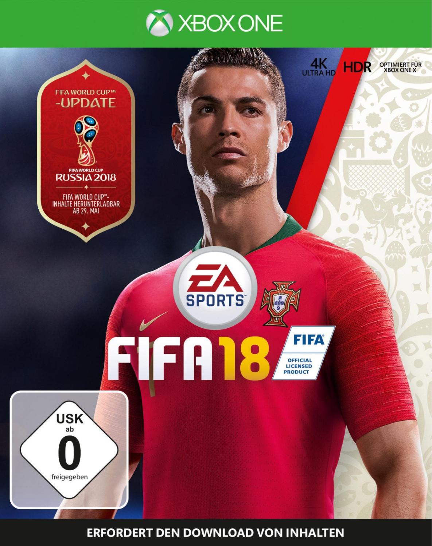 FIFA 18 (Xbox One) für 5€ (Conrad Filiale)