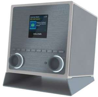 PALONA QUUBI 2.1 - DAB Internetradio mit DAB+ / UKW / Bluetooth / WLAN / Spotify / Multiroom