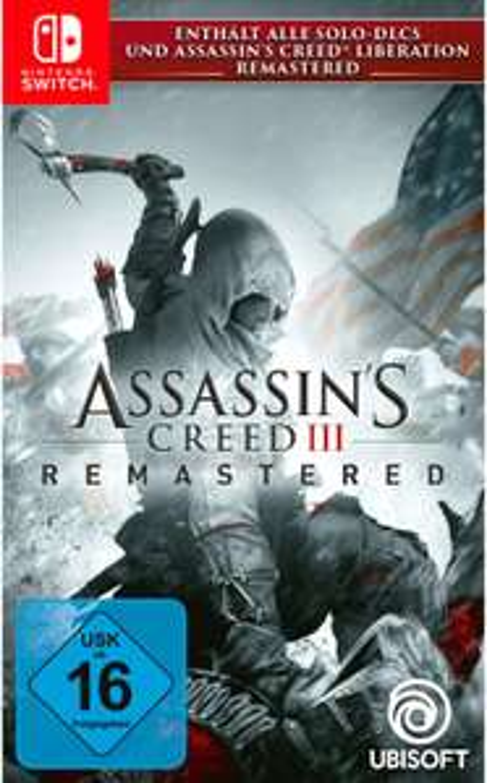 Assassin's Creed III Remastered (Switch) für 29,99€ bzw. 25,50€ (Müller)