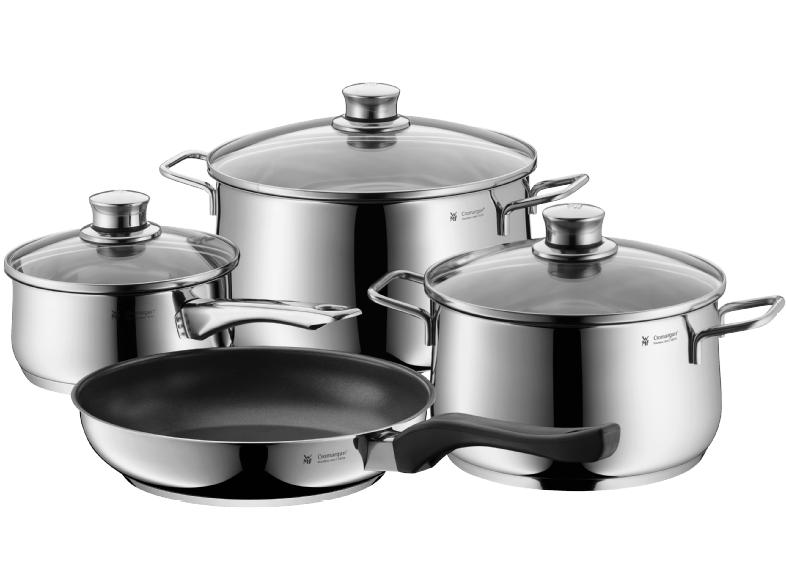 WMF Diadem Plus Topf-Set 4-teiliges Kochset