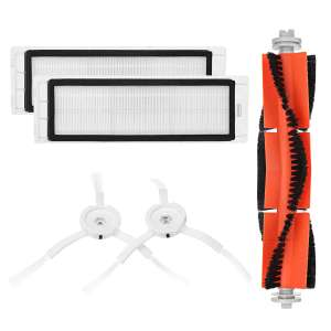 Main Brush Filters Side Brushes Accessories For XIAOMI MI Robot  Applicance Part