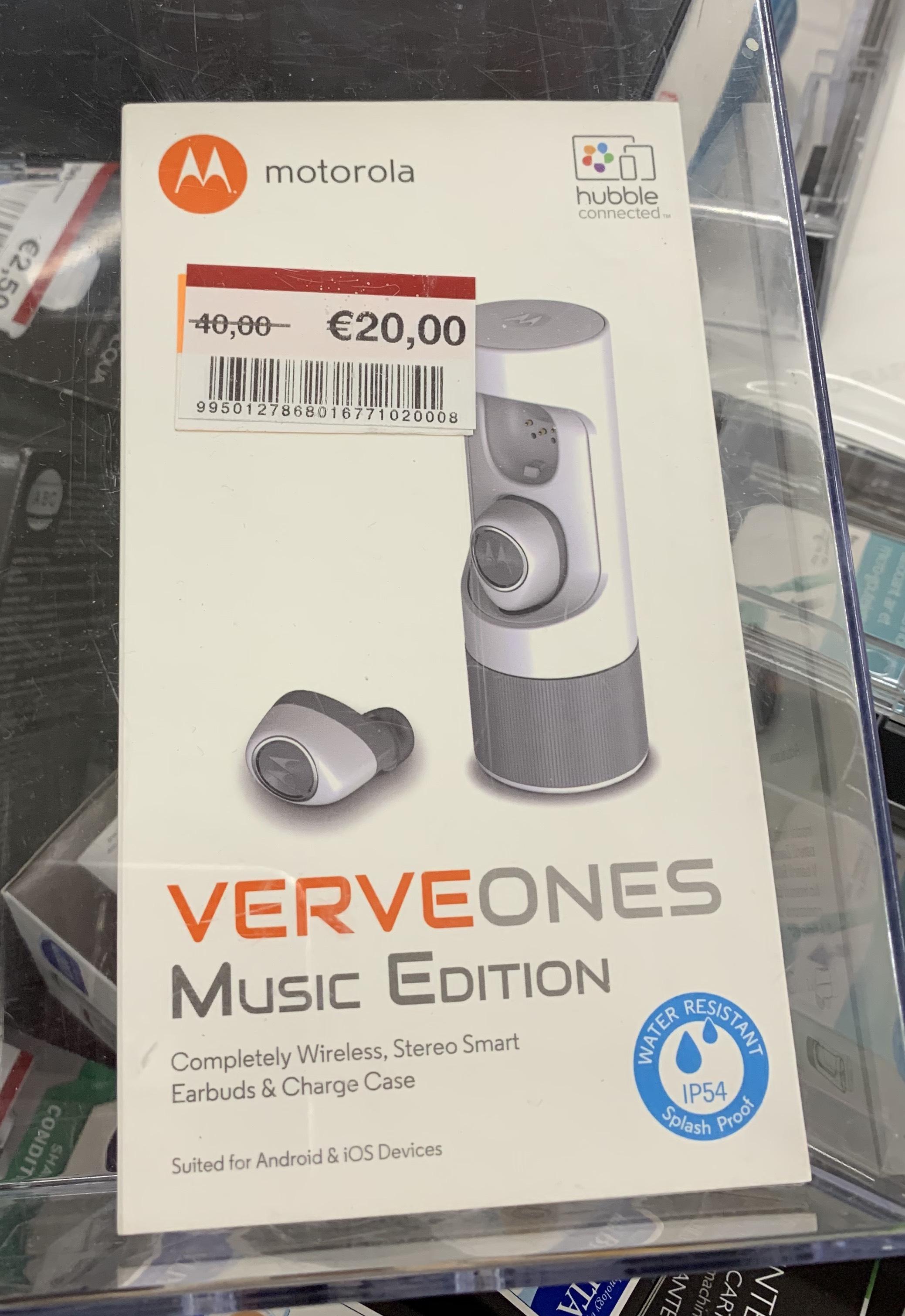 Verve Ones ME by Motorola - True-Wireless Blutooth In-Ear Kopfhörer [LOKAL real,- Essen]